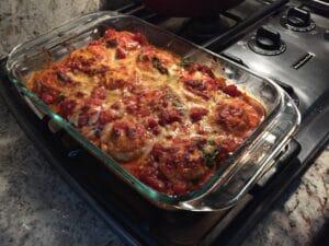Sunshine Dawn Eggplant Parmesan Recipe