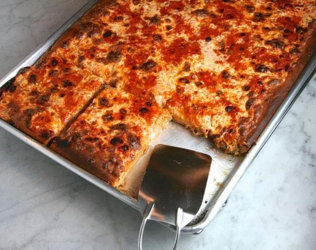 Grandma-Style Pizza Dough