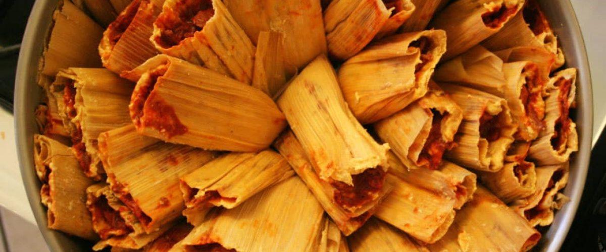 Homemade Tamales