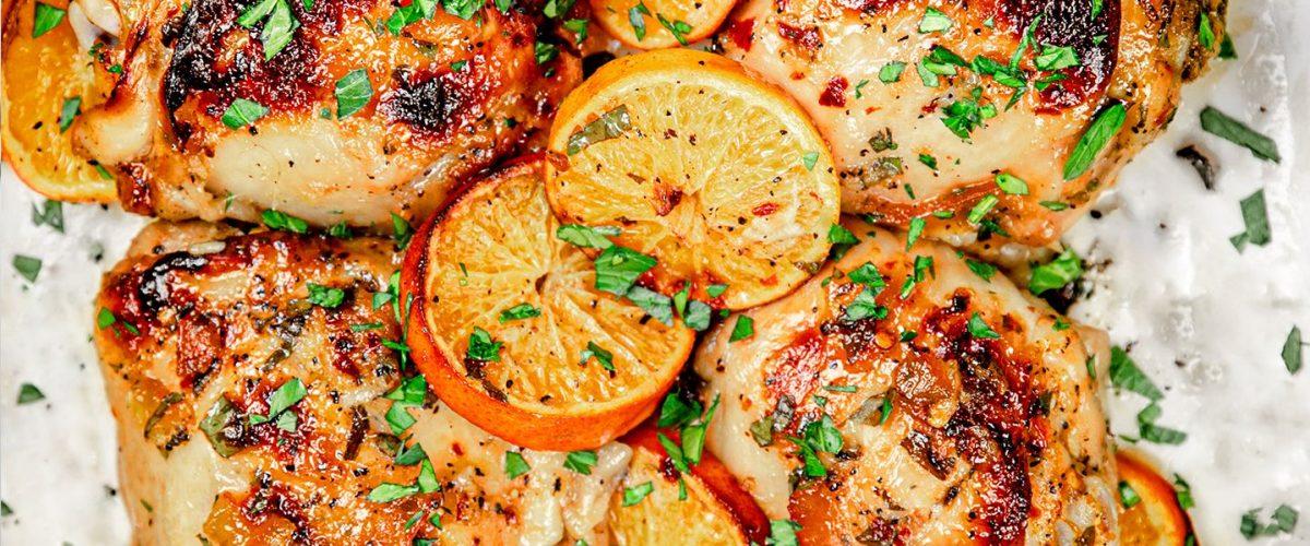 Orange & Citrus Roasted Chicken